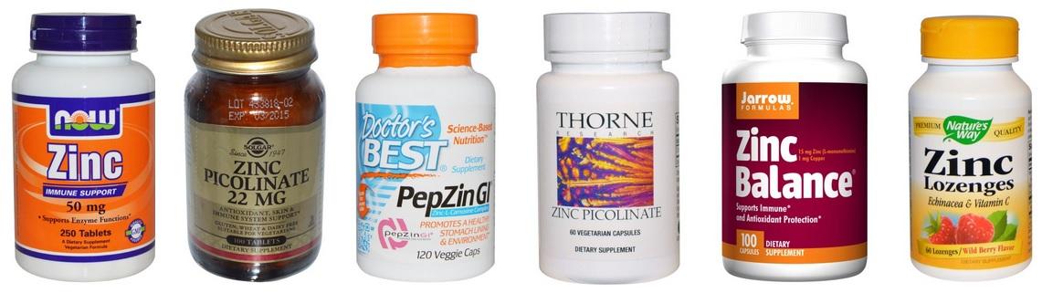 Витамины с цинком для женщин отзывы