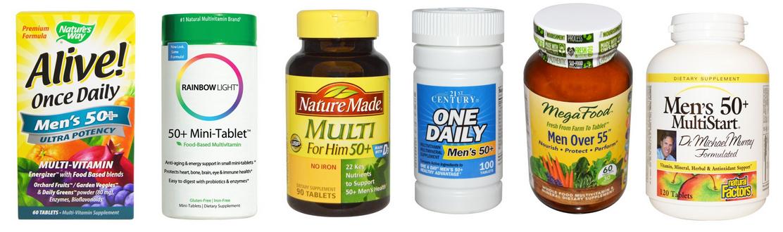 Витамины для мужчин после 50 лет название