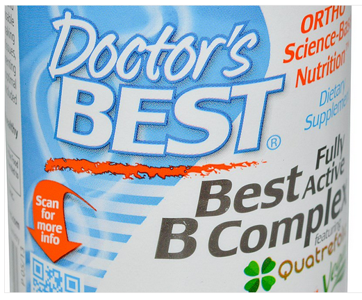 Doctor's Best Fully Active B-Complex