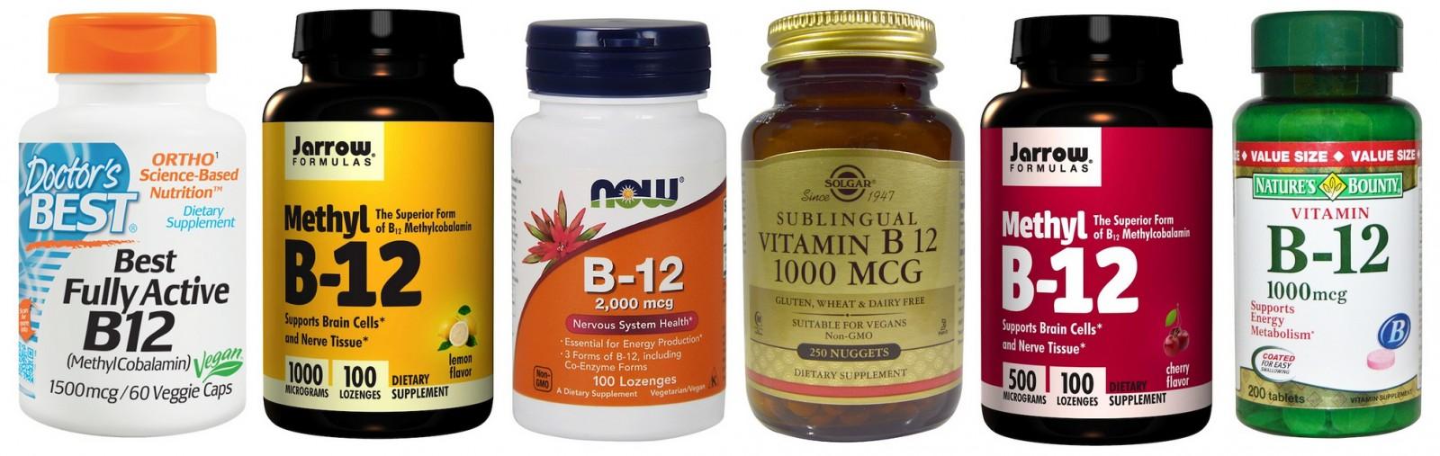 Витамин B12 в таблетках: цена, отзывы